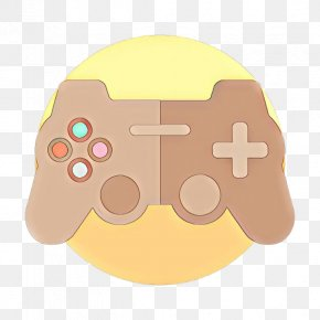 Joystick Playstation 3 Accessory - Game Controller Yellow Technology Gadget Playstation Accessory PNG