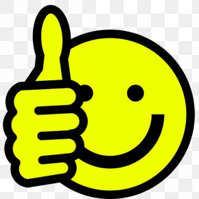 Happy File - Thumb Signal Smiley Clip Art PNG