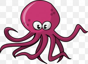 Cute Octopus File - Octopus Clip Art PNG
