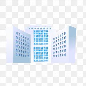 White Building - Building Euclidean Vector PNG