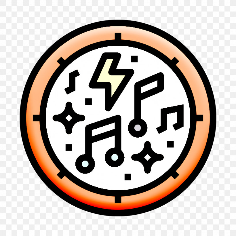 Punk Rock Icon Musical Notes Icon Music Icon, PNG, 1152x1152px, Punk Rock Icon, Music Icon, Musical Notes Icon, Orange, Sign Download Free
