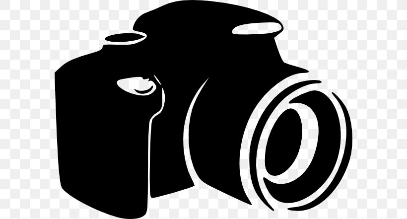 Digital Camera Digital SLR Clip Art, PNG, 600x441px, Camera, Black And White, Brand, Camera Lens, Digital Camera Download Free