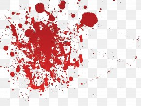 Blood - Splatter Film Clip Art PNG