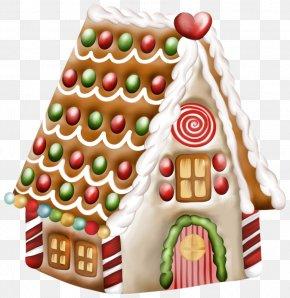 Transparent Gingerbread House Clipart - Bake Sale Cupcake Russian Tea Cake Baking Melomakarono PNG