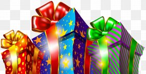 Christmas Gift Boxes Clipart PNG