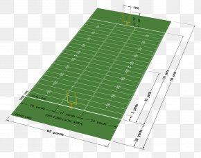 Field - Canadian Football League NFL American Football Field PNG