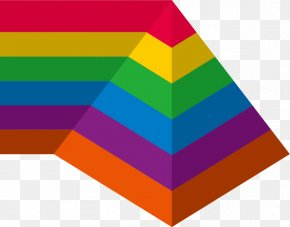 Colorful Pyramid - Designer Graphic Design PNG