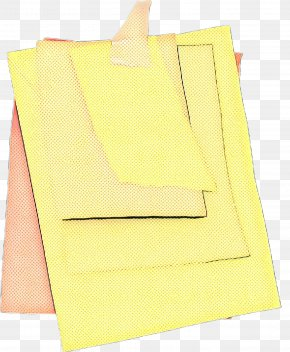 Paper Product Yellow - Vintage Background PNG