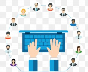 Collaboration Icon - Web Conferencing Email Vector Graphics Communication Internet PNG