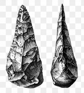 Reading Ancient Stories - Lower Paleolithic Stone Age Prehistory Hand Axe PNG