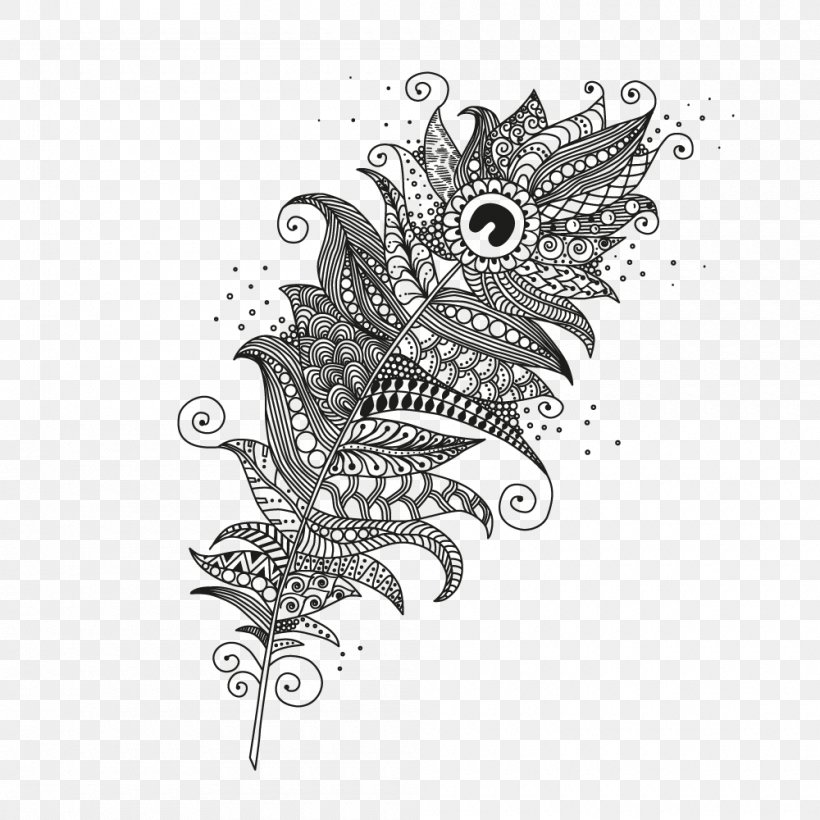 Vector Graphics Illustration Royalty-free Zentangle Coloring ...