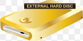 Gold Hard Disk Vector - Euclidean Vector Gold Icon PNG