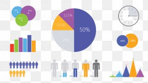 Pie Chart Infographic Clip Art PNG