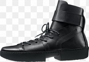 Boot - Motorcycle Boot Fashion Boot Shoe Leather PNG