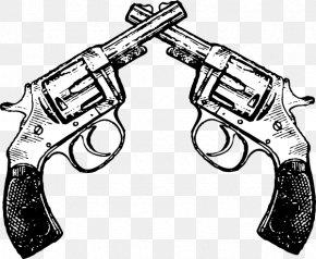 Pistols Cliparts - Revolver Pistol Handgun Firearm Clip Art PNG