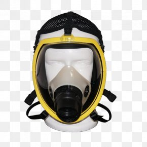 Yellow With Filter Layer Gas Masks - Gas Mask Chemical Substance Breathing PNG