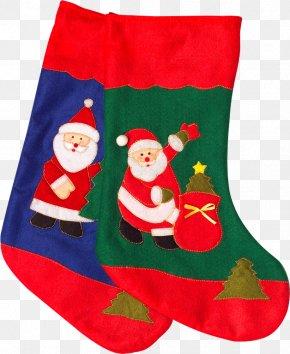 Santa Claus - Christmas Stockings Santa Claus Christmas Ornament Infant PNG