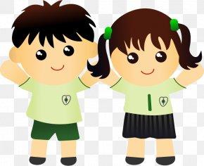 Happy Clothes Cliparts - Student School Uniform Clip Art PNG