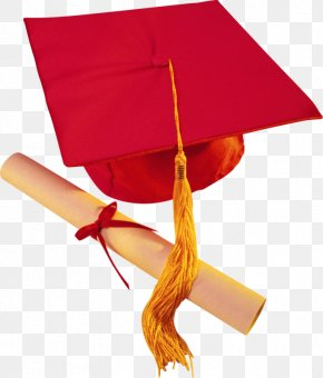 Red Hat Dr. - Graduation Ceremony Diploma Cap School Clip Art PNG