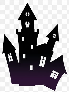 Halloween - Haunted House Haunted Attraction Halloween Clip Art PNG