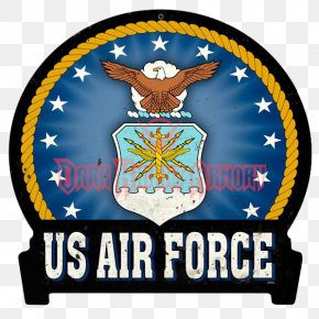 Banner Sign - United States Air Force Military Branch PNG