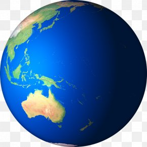 3D-Earth-Render-05 - Earth Oceania PNG