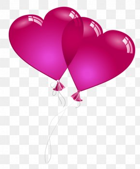 Valentine Heart Baloons PNG Clipart Picture - Valentine's Day Heart Clip Art PNG