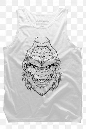T-shirt - Long-sleeved T-shirt Pug Long-sleeved T-shirt PNG