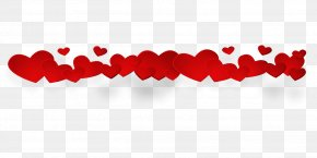 Love Heart - Red Text Heart Love PNG