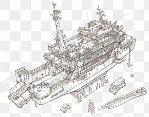 Building Artwork - South Korea Concept Art Drawing Illustrator PNG