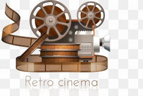 Projector - Movie Projector Reel Film PNG