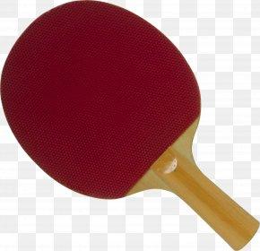 Ping Pong Paddle - Pong Table Tennis Racket PNG