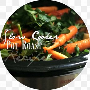 Salad - Pot Roast Vegetarian Cuisine Recipe Slow Cookers Food PNG