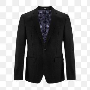 Flat Collar Classic Suit - Blazer Suit Collar Tuxedo PNG