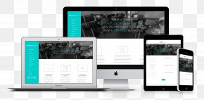 Web Design - Web Development Responsive Web Design Mockup PNG