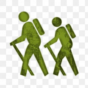 Couple Hiking Cliparts - Hiking Clip Art PNG