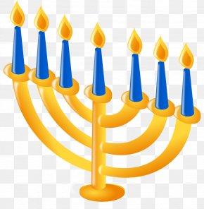 Hanukkah - Temple In Jerusalem Menorah Hanukkah Judaism Clip Art PNG