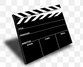 Film Camera Cliparts - Scene Clapperboard Film Director PNG