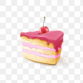 Cream Sandwich Cake - Cream Stuffing Cake Dessert PNG