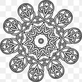 Geometrical DESIGN - Geometry Mathematics Islamic Geometric Patterns Black And White Symmetry PNG