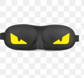 Little Monster Stereo Goggles - Goggles Blindfold Sleep PNG