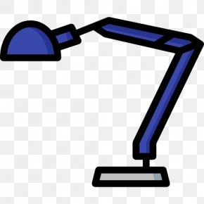 Office Desk Lamp - Computer Monitor Accessory Line Angle Clip Art PNG