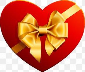 Gift Box Image - Heart Chocolate Box Art Clip Art PNG