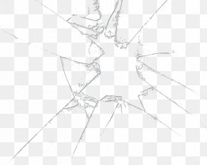 Broken Glass File - Symmetry Line Structure Angle Pattern PNG