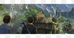 UNCHARTED 4 - Uncharted 4: A Thief's End Uncharted 3: Drake's Deception Nathan Drake Video Game PlayStation 4 PNG