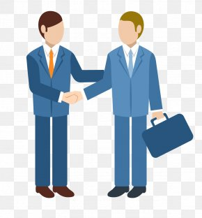 Business People Shake Hands - Customer Organization Business Company PNG