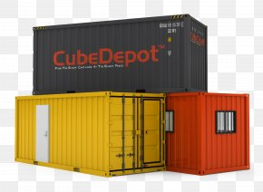 Container Clipart - Intermodal Container Shipping Container Architecture Freight Transport PNG