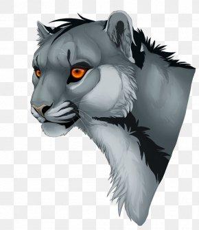Tiger - Whiskers Tiger Lion Cat Art PNG