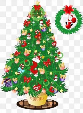 Creative Christmas Tree - Santa Claus Christmas Tree Email Outlook.com PNG