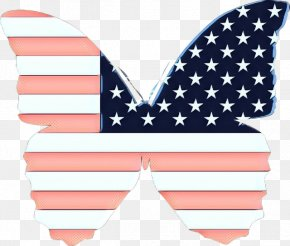 Flag Of The United States Bikini - Flag Pink Line Bikini Flag Of The United States PNG